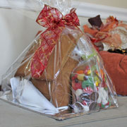 Large Gingerbread House Kit - Wrapped