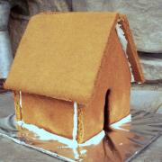 Plain Large Gingerbread House