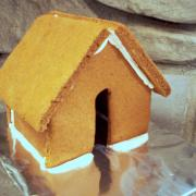 Small Plain Gingerbread House